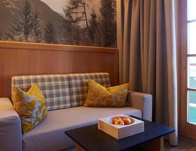 Doppelzimmer Sonnenkogel Hotel Alpenrose Elbigenalp
